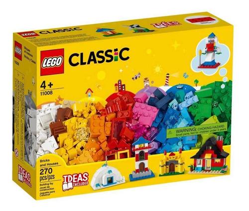 Imagem 1 de 3 de Lego Classic Blocos E Casas 270 Peças - 11008