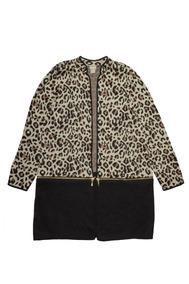 Convertible Leopard Print Cardigan Chico´s