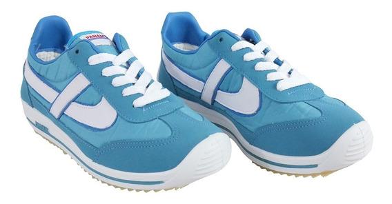 Panam Tenis Jogger Unisex Azul Cielo 10025-0090 Retro Vintag