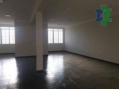 Salão Para Alugar, 100 M² Por R$ 2.000,00/mês - São João - Jacareí/sp - Sl0017