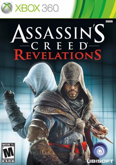 Jogo Xbox 360 Assassin´s Creed Revelations Original