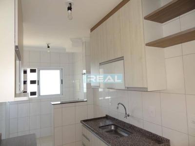 Apartamento Com 2 Dormitórios Para Alugar, 61 M² Por R$ 1.200/mês - Condomínio Residencial Calegaris - Paulínia/sp - Ap1161