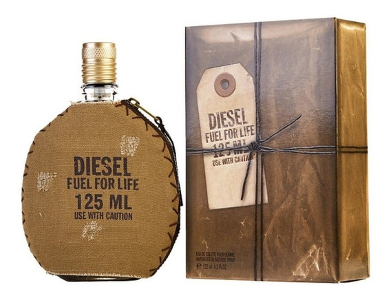 Diesel Fuel For Life 125ml Masculino | Lacrado 100% Original