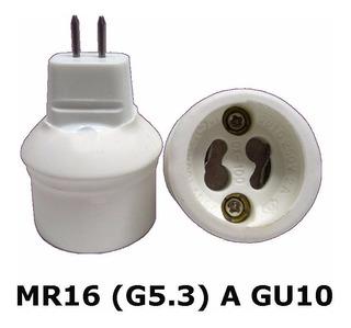 Adaptador Socket Lamparas Base Mr16 (g5.3) A Gu10