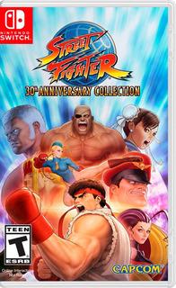 ..:: Street Fighter 30 Aniversario ::.. Para Switch En Gw
