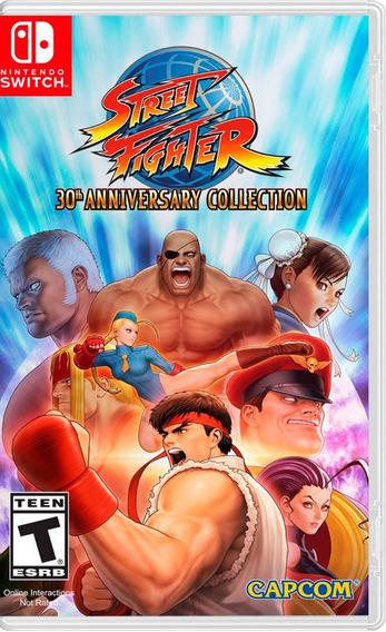 ..:: Street Fighter 30 Aniversario ::.. Para Switch En Gcd