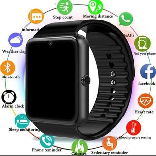 Relógio Inteligente Masculino Gt08 Com Tela De Toque