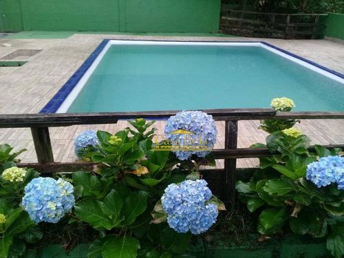Chácara Com 3 Dormitórios À Venda, 250 M² Por R$ 250.000 - Vila Parque Fluvial - Itanhaém/sp - Ch0046