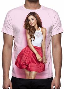 Camisa, Camiseta Cantora Ariana Grande