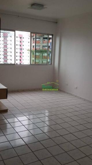 Apartamento Para Alugar, 75 M² Por R$ 1.400,00/mês - Torre - Recife/pe - Ap1427