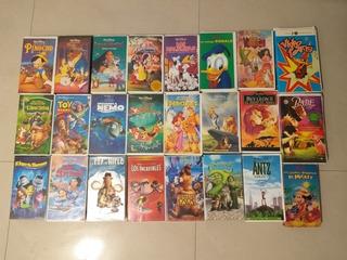 Películas Vhs Disney Y Dreamworks Originales.