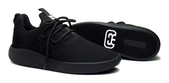 Tênis Hocks De Skate Galáctica Black Preto Cadarço Adicional
