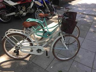 Bicicleta Bassano Vintage Dama Rodado 26 Sin Cambios