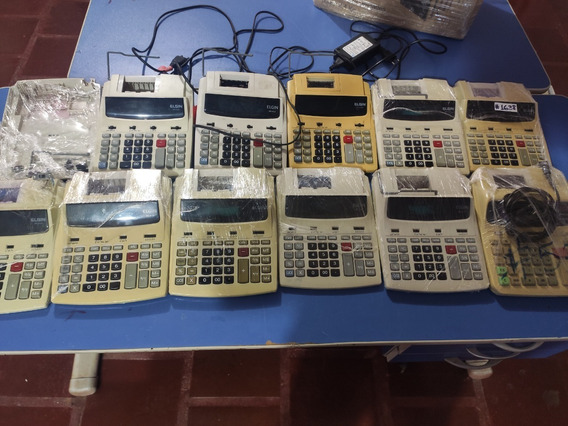 Kit 12 Calculadoras E Carcaças Elgin Leia A Descrição #2837