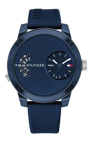 Reloj Tommy Hilfiger Caballero Color Azul 1791556 - S007