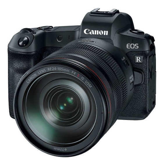 Canon Eos R Mirrorless 4k + 24-105mm F/4l Is Usm