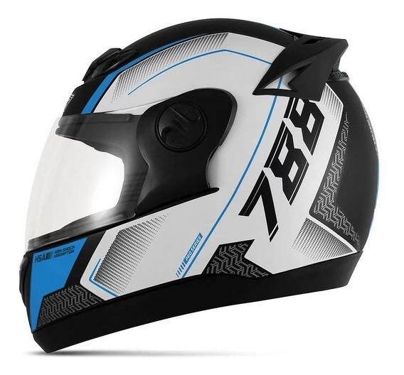 Capacete para moto integral Pro Tork Evolution G6 Pro Series azul tamanho 58