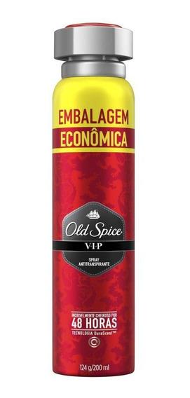 Desodorante Spray Antitranspirante Old Spice Vip 124g