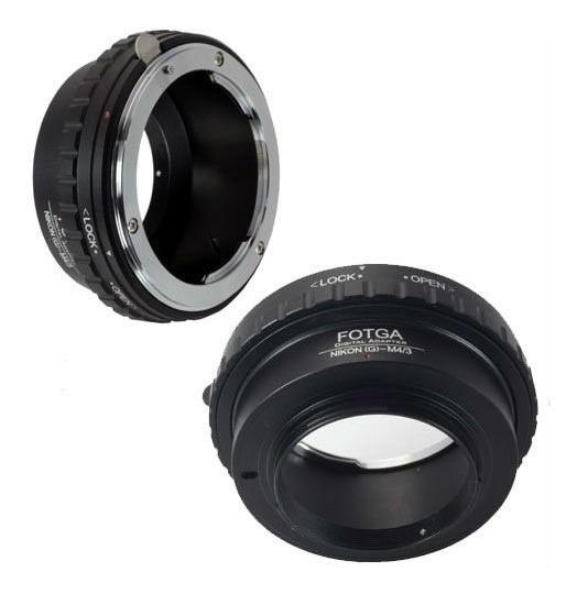 Anel Adaptador Lente Nikon G Para Blackmagic Lumix Jvc M4/3