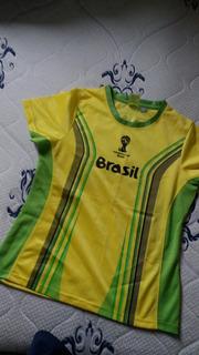 Camisa Brasil Feminina
