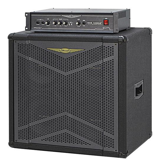 Amplificador Contra Baixo Oneal Ocb 1000 Hx + Obs 410 X