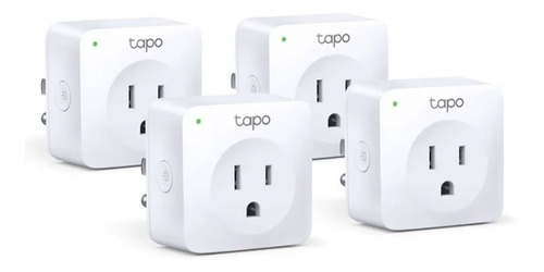 Enchufe Inteligente Tp Link Tapo P100 Pack Por 4 Smart Mf