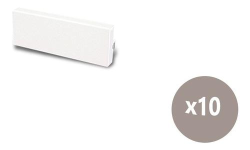 Imagen 1 de 5 de Tapa Suplementaria 1 Módulo Blanca Cambre 4004 X10