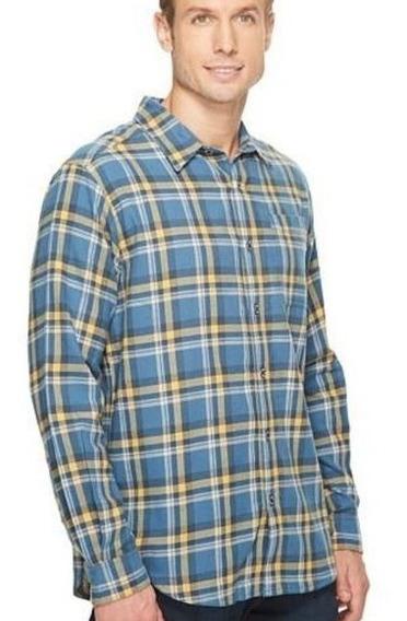 Camisa Columbia 4xl Boulder Ridge Flannel Regular Fit Big