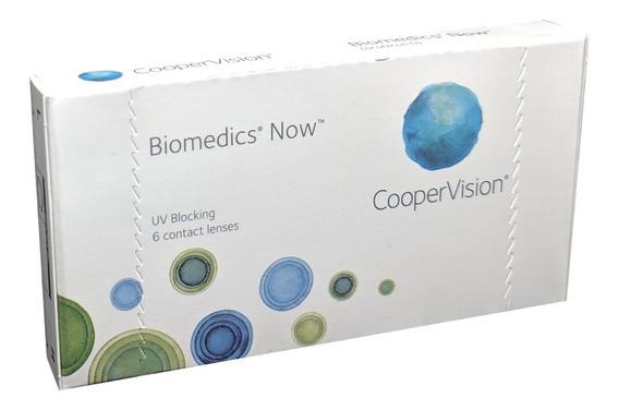 Lentes De Contacto Coopervision Biomedics Now 6 Pzas Mensual