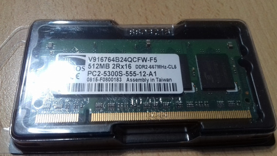 Promos 512mb 2rx16 Ddr2-667mhz Cl5 Pc2-5300s-555-12-a1