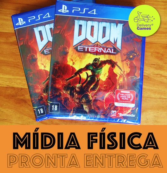 Doom Eternal Ps4 Mídia Física Novo Lacrado