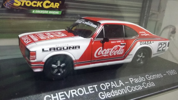 Miniatura Opala Coca Stock Car Paulo Gomes 1/43