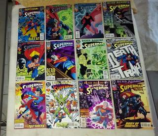 Superman Lote De Comics