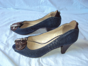 Sapato Azul Bottero Tamanho 36