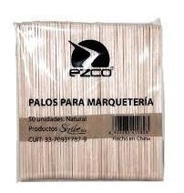 Palito De Helado Natural X50