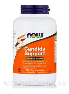 Candida Support - 180 Veg Capsules - Now