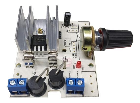 Controlador De Velocidade Para Motor 12v 10a (pwm) 0 A 100%