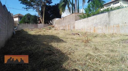 Imagem 1 de 11 de Terreno À Venda, 540 M² Por R$ 530.000 - Parque Das Universidades - Campinas/sp - Te0254