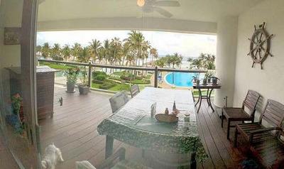 Cad Petén 302 Terraza Con Vista Al Mar, Jardines Y Albercas