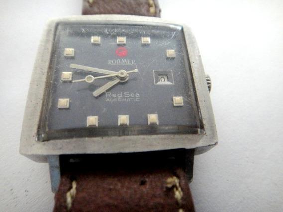 Relógio Roamer Red Sea Automático Calendário As 3 Horas