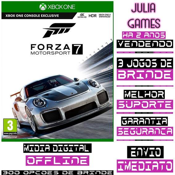 Forza Motorsport 7 Xbox One Digital Offline + Brinde