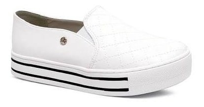 Slip On Via Marte- Branco