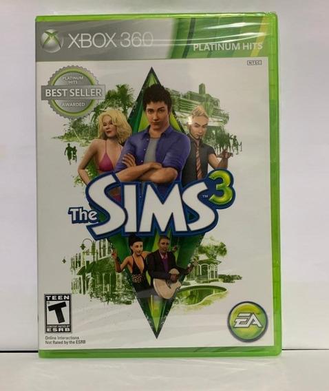 The Sims 3 Mídia Física - Xbox 360