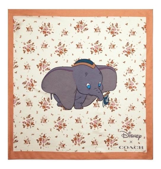 Coach Mascada Seda 89847 Disney Dumbo 100% Original