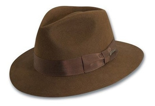 Indiana Jones Mens Lana Fieltro Fedora