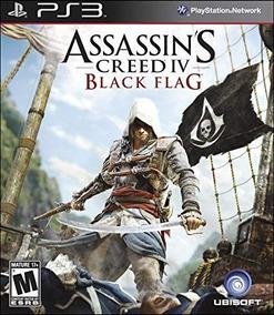 Frete Gratis - Assassins Creed 4 Black Flag Ps3 Midia Fisica