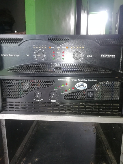 Amplificador Soundbarrier Pcs5000 Qsc Capitán Crown