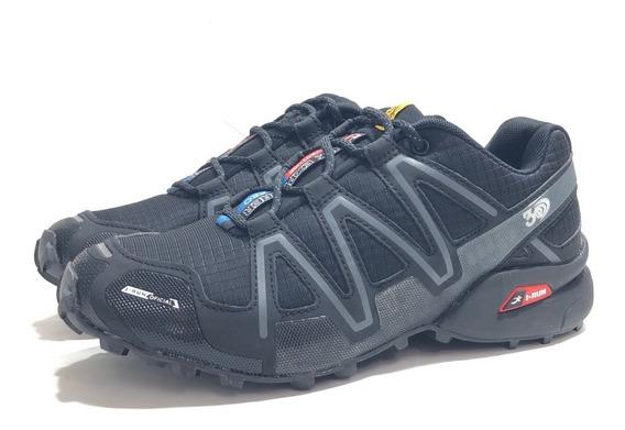 Zapatilla Outdoor Hombre I-run 0374214 El Mercado De Zapatos