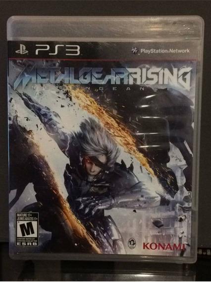 Metal Gear Rising - Midia Fisica Original E Lacrado - Ps3