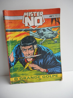Hq Mister No O Grande Golpe 11 Ed Record 1991